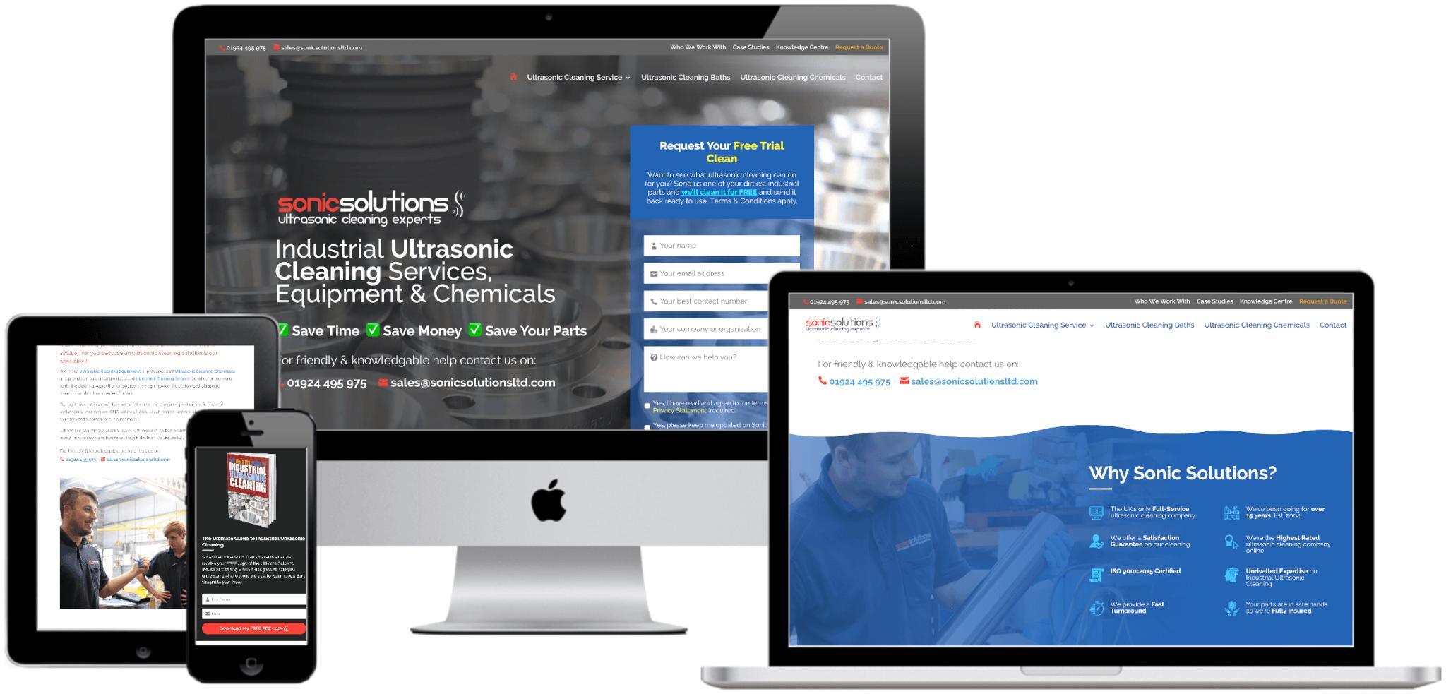 Sonic Solutions Website