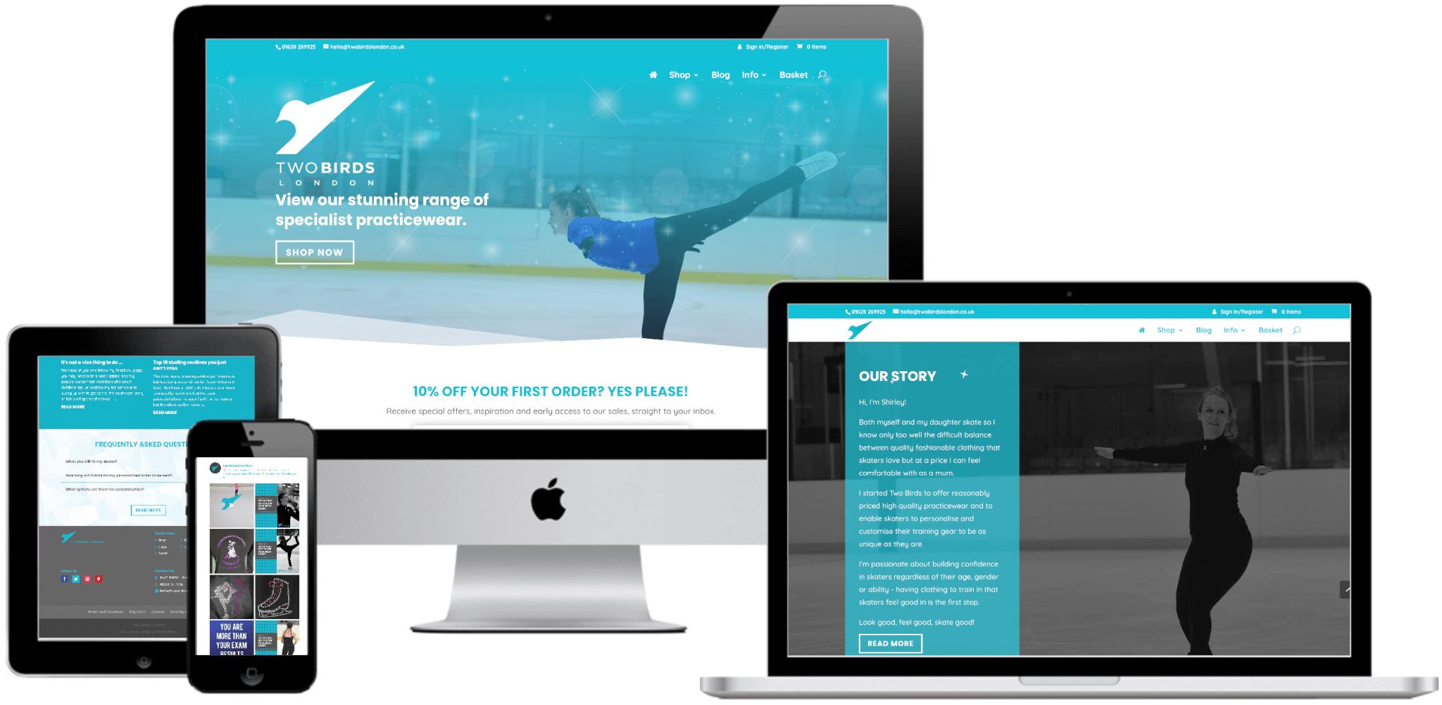 Two Birds London Website
